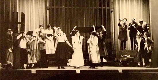 "A Scene from ""Motl Peysi on Ellis Island"" Directed by Sabell Bender, 1968"