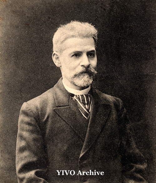 Jacob Dinezon Portrait, circa 1906