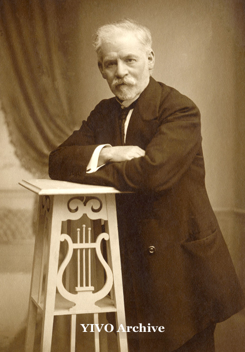 Jacob Dinezon, 1913, YIVO Archive