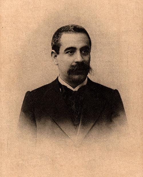 I. L. Peretz Portrat