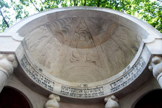 Dome on Mausoleum of the Three Writers