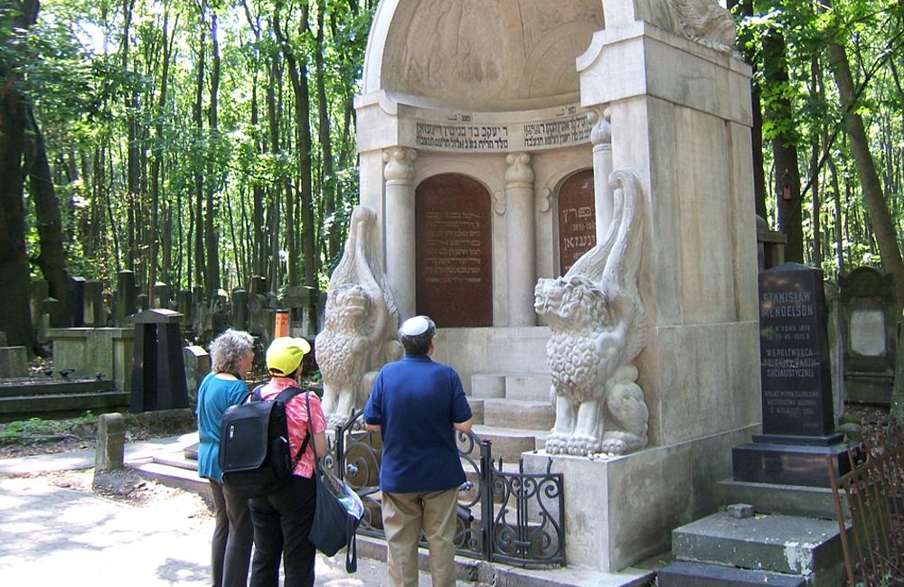 Standing Before the Three Writers Mausolem
