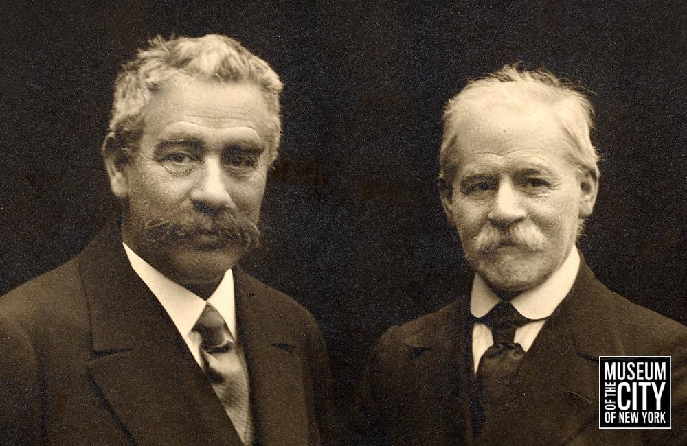 Peretz and Dinezon Photograph