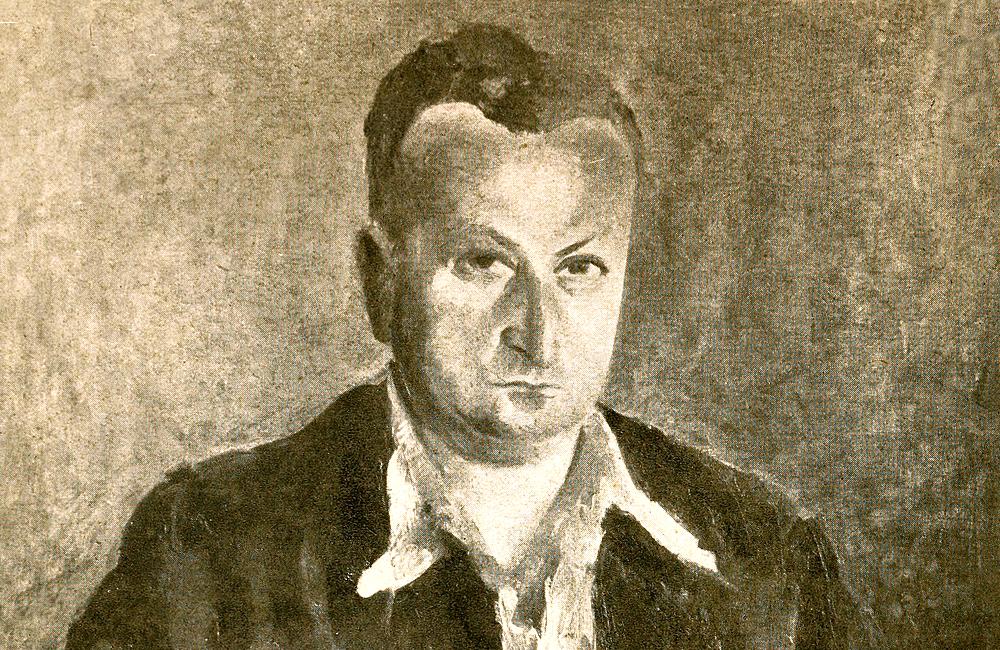 Drawing of Jehiel Isaiah Trunk