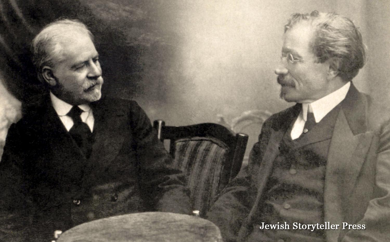 Jacob Dinezon and Sholem Aleichem